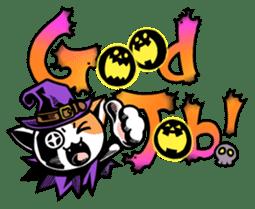 Nyagoes in Halloween sticker #1191048