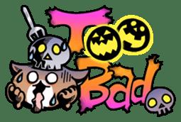 Nyagoes in Halloween sticker #1191049