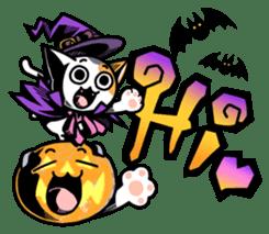 Nyagoes in Halloween sticker #1191050