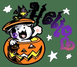 Nyagoes in Halloween sticker #1191051
