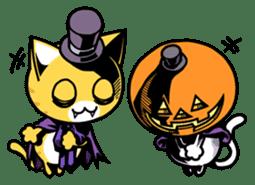 Nyagoes in Halloween sticker #1191052