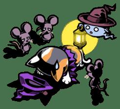 Nyagoes in Halloween sticker #1191053