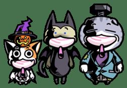 Nyagoes in Halloween sticker #1191056