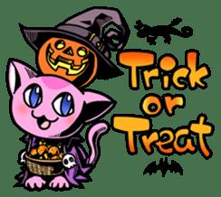 Nyagoes in Halloween sticker #1191057