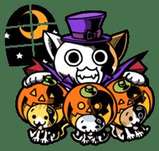 Nyagoes in Halloween sticker #1191058