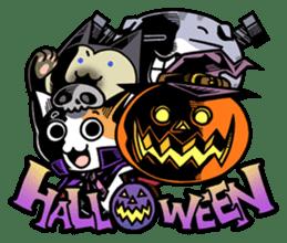Nyagoes in Halloween sticker #1191059