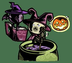 Nyagoes in Halloween sticker #1191060