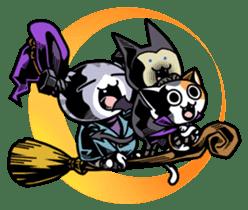 Nyagoes in Halloween sticker #1191061