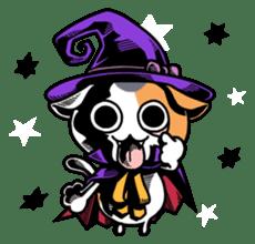 Nyagoes in Halloween sticker #1191062