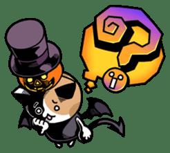 Nyagoes in Halloween sticker #1191063