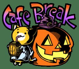 Nyagoes in Halloween sticker #1191064