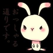 สติ๊กเกอร์ไลน์ The wabi and sabi rabbit
