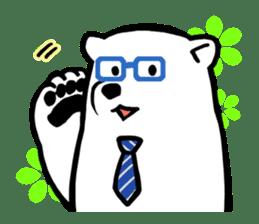 Dad Polar Bear sticker #1192226