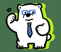 Dad Polar Bear sticker #1192259