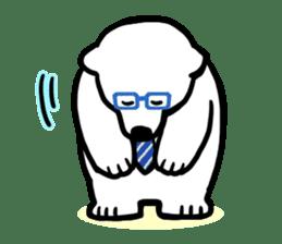 Dad Polar Bear sticker #1192260