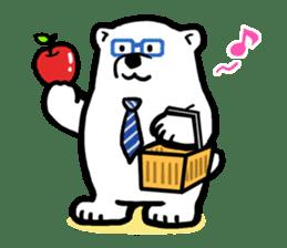 Dad Polar Bear sticker #1192262