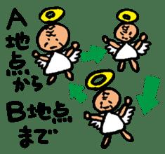 Older Angel sticker #1195214