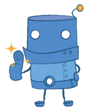 Blux, the Robot sticker #1195507