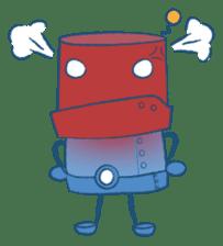 Blux, the Robot sticker #1195513