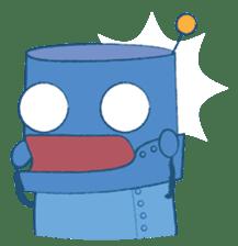 Blux, the Robot sticker #1195515