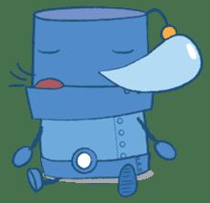 Blux, the Robot sticker #1195516