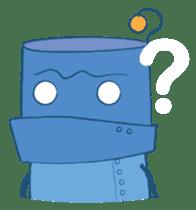 Blux, the Robot sticker #1195523