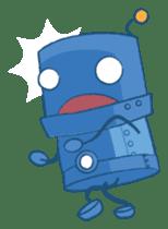 Blux, the Robot sticker #1195525