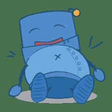 Blux, the Robot sticker #1195529