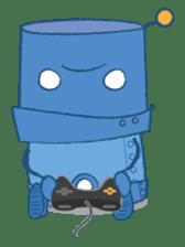 Blux, the Robot sticker #1195532