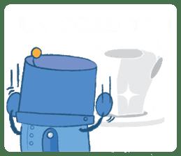 Blux, the Robot sticker #1195534