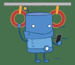 Blux, the Robot sticker #1195535