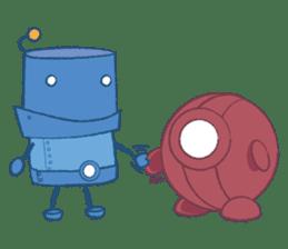 Blux, the Robot sticker #1195538