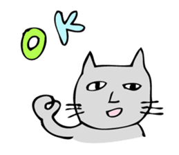 Ugly cat sticker #1196004
