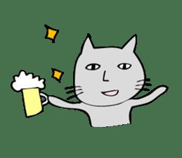 Ugly cat sticker #1196018