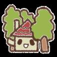森の中の小さな家