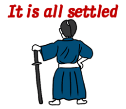 I am SAMURAI sticker #1196785