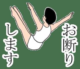 Gymnastics boy Hajime-kun sticker #1196962