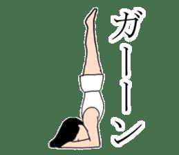 Gymnastics boy Hajime-kun sticker #1196969