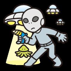 Two aliens