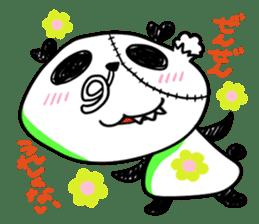 Strained endurance panda sticker #1197550