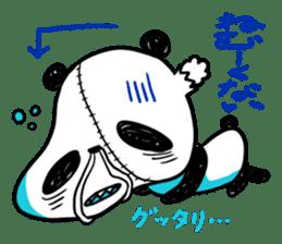 Strained endurance panda sticker #1197552