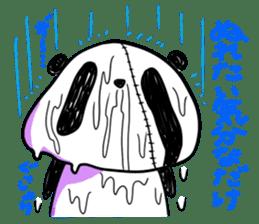 Strained endurance panda sticker #1197561