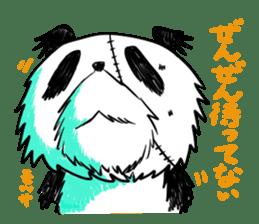 Strained endurance panda sticker #1197567