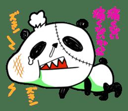 Strained endurance panda sticker #1197569