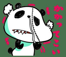Strained endurance panda sticker #1197571