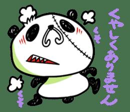 Strained endurance panda sticker #1197578