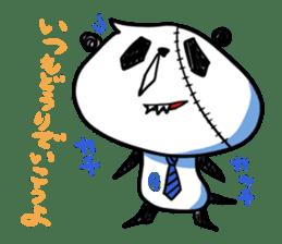 Strained endurance panda sticker #1197581