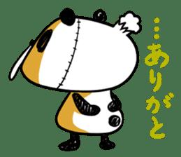 Strained endurance panda sticker #1197585