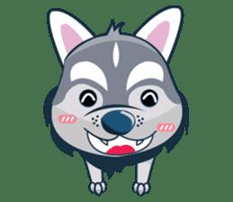 Lovercute Dog sticker #1197949