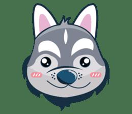 Lovercute Dog sticker #1197951
